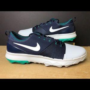 Nike Golf Shoe FI Impact 3 Blue Pure Platinum